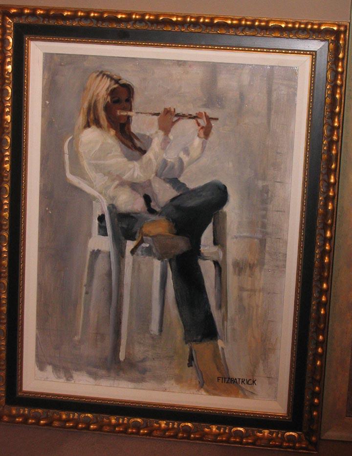 Estudio con flauta