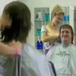 Obscenidades en la peluquería