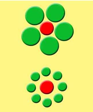 circulos-mayor-rojo-verde-ilusion-optica