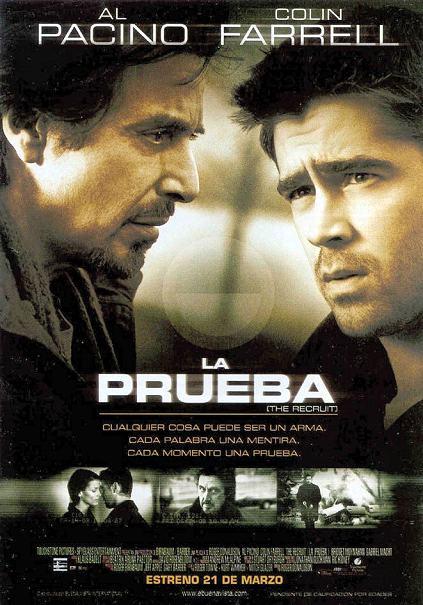 la prueba Colin Farrell Al Pacino 2003