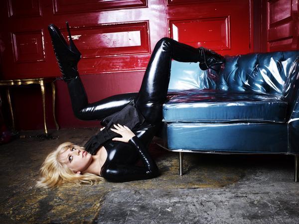lady gaga leather