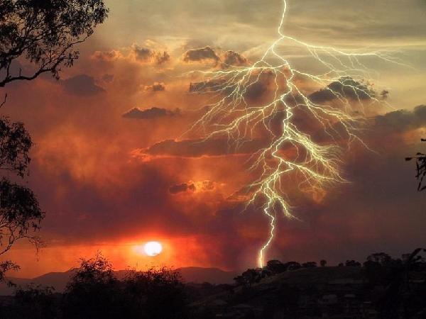 naturaleza rayo