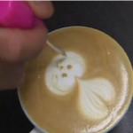 video arte cafe leche