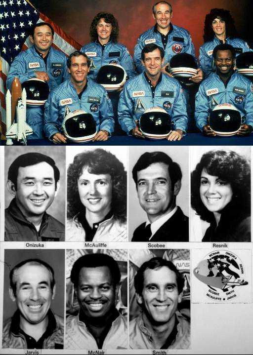 challenger-tripulacion cohete crew 2