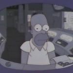 Homer despedido por dormir en el trabajo