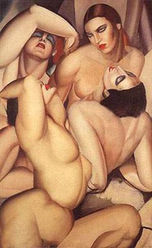 cuatro desnudos, 1925