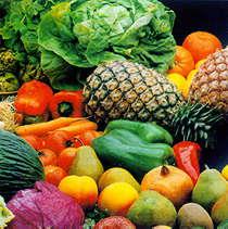 verduras frutas