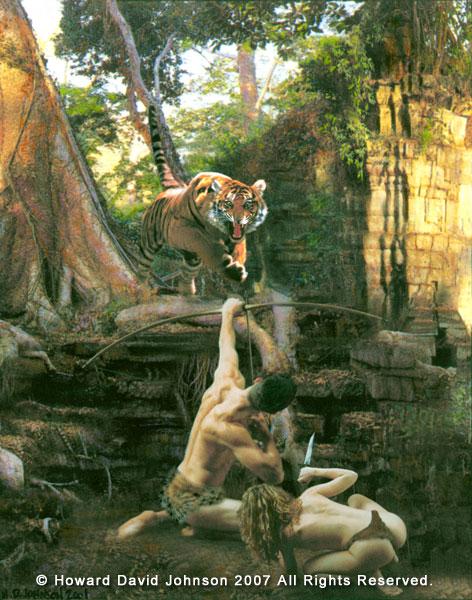 Howard David Johnson cuentos selva