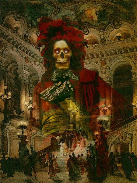 Howard David Johnson el fantasma de la opera