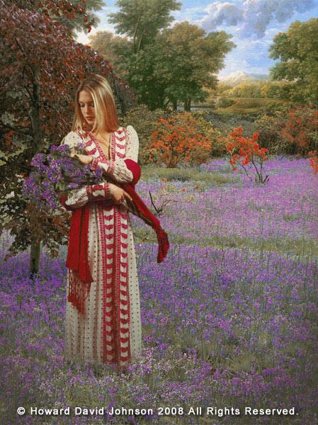 Howard David Johnson recogedora flores