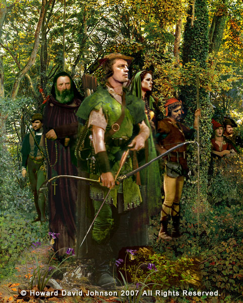 Howard David Johnson robin hood