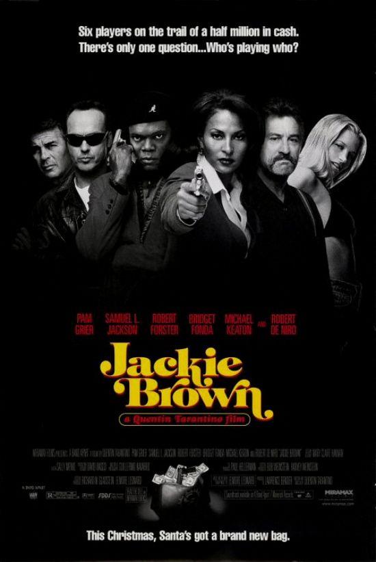 Jackie Brown tarantino poster