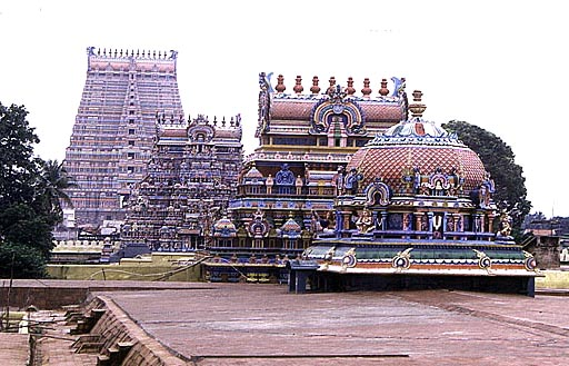 Sri Ranganathaswamy templo india 10