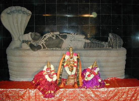 Sri Ranganathaswamy templo india Lord Ranganatha Vishnu
