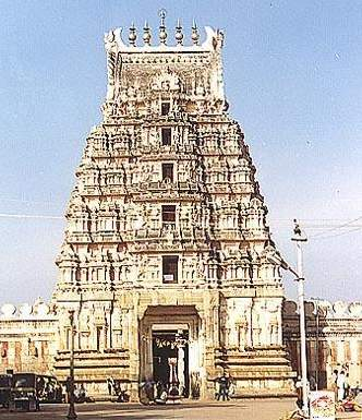 Sri Ranganathaswamy templo india ranga