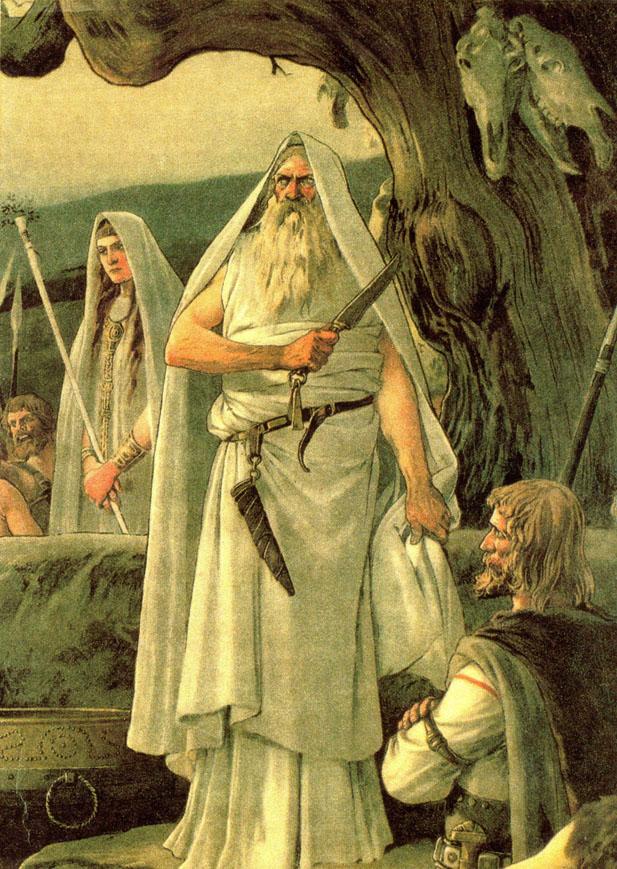 celta druidas