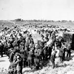 Huelguistas en la Depresión Norteamericana