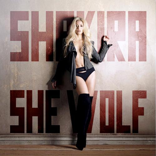 shakira She Wolf cover