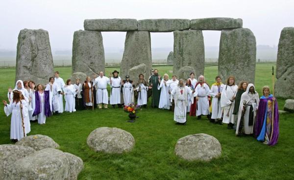 stonehenge druidas