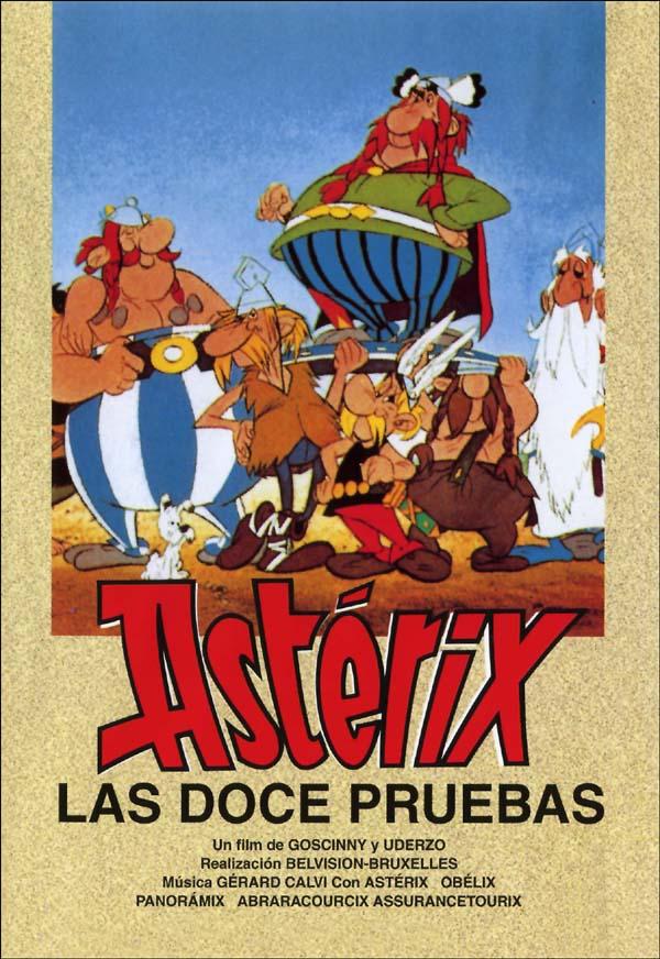 Asterix Doce Pruebas