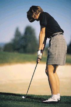 golf mujer
