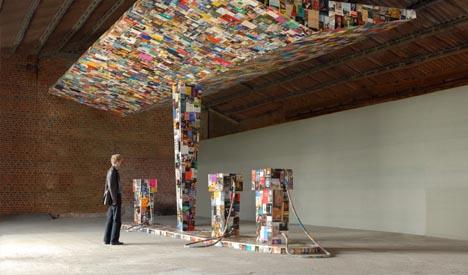 Job Koelewijn arte arquitectura pilares
