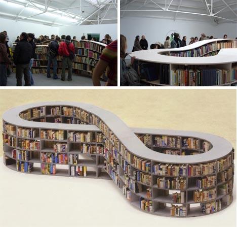 biblioteca bucle infinito