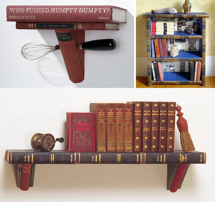 estanteria libros antiguos
