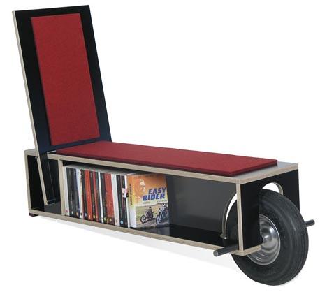 estanterias biblioteca ruedas sillon largo