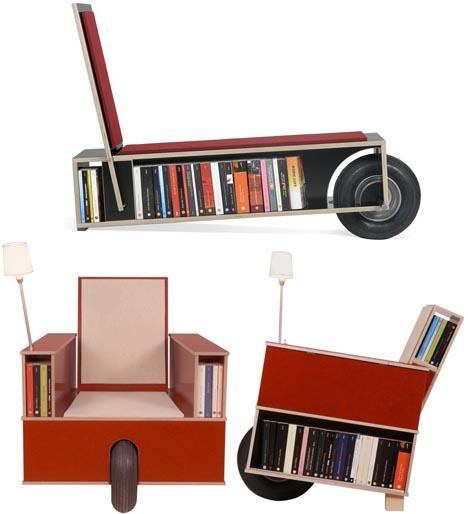 estanterias biblioteca ruedas