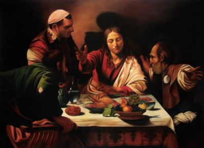 jesus_Emmaus_caravaggio