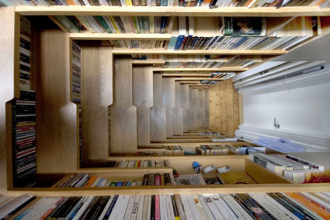 Estanter as y bibliotecas originales blogodisea for Escaleras libreria