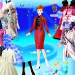 Barbie moda, peluquería y maquillaje: vestidos elegantes alta costura