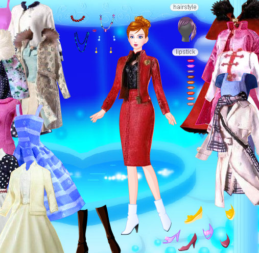 Barbie juego alta costura