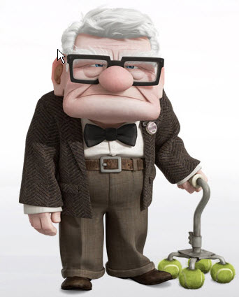 Carl Fredricksen up disney