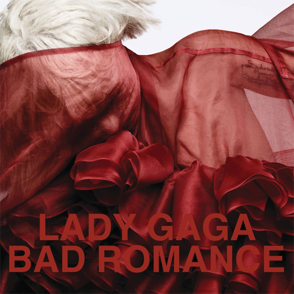 Lady GaGa - Bad Romance Official Single Cover