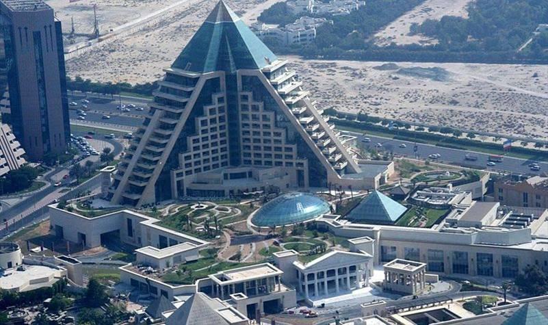 Raffles Dubai in Wafi city Dubai UAE