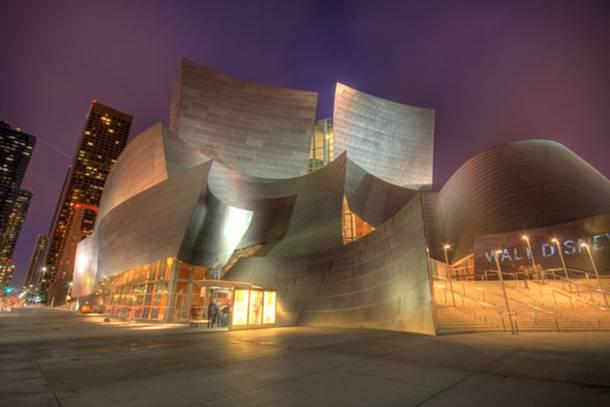 Walt Disney Concert Hall Los Angeles California USA