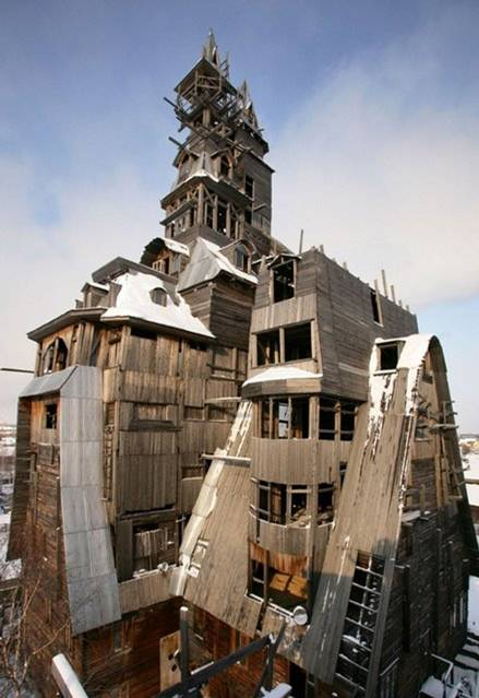 Wooden Gagster House Archangelsk rusia