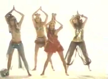 bangles walk egyptian video c