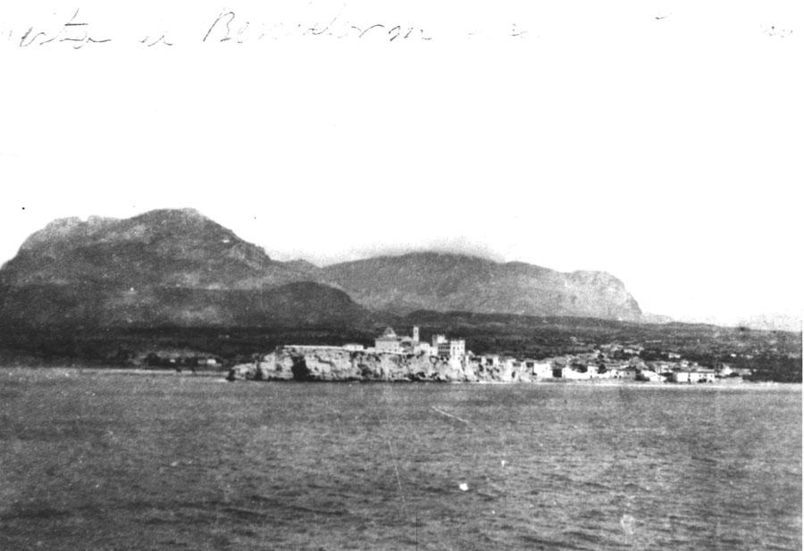 benidorm-fotos-Pueblo desde el mar