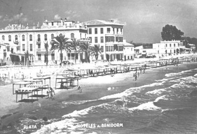 benidorm-fotos-playa levante hotel bilbaino