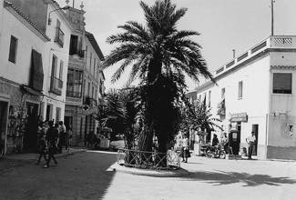 benidorm-fotos-plaza-cruz-la-palmera-1959