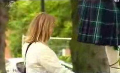 broma falda escocesa