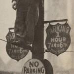 Huelga parando el tráfico en la Depresión Norteamericana