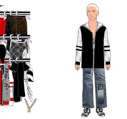 Vestir al rapero Eminem