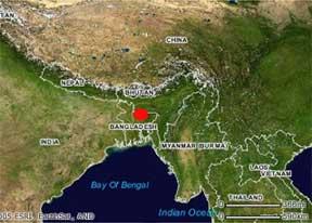 lluvia Cherrapunji india mapa