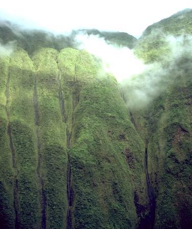 lluvia monte wai-ale isla hawaii Kauai