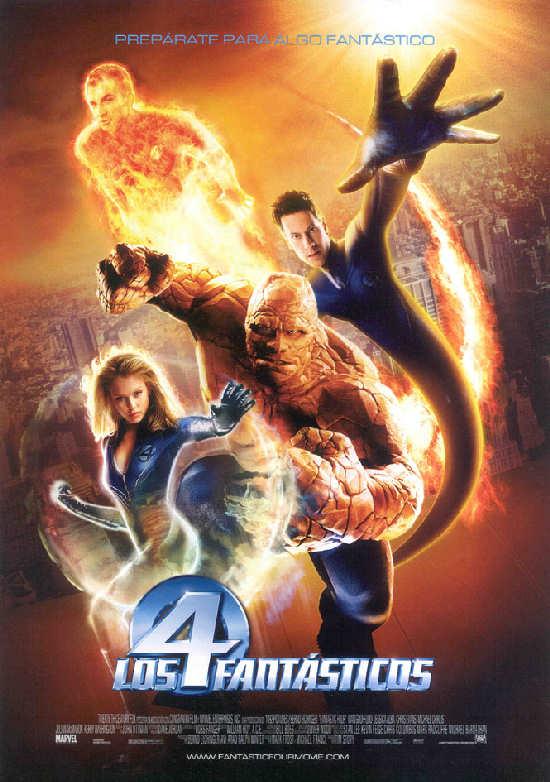 los-4-cuatro-fantasticos-pelicula-cartel-dvd