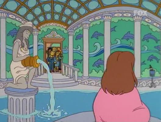 simpson homer mister x piscina